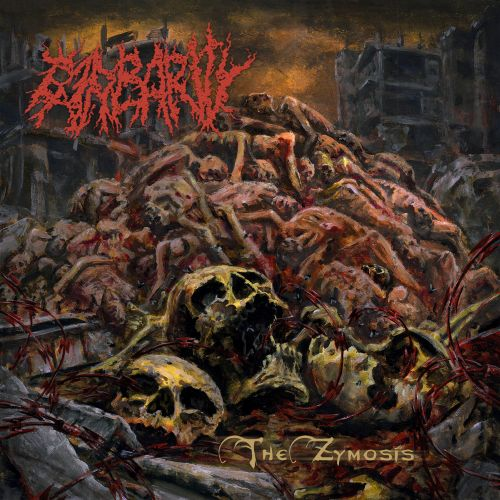 Barbarity - The Zymosis - CD Jewel