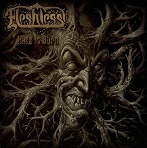 Fleshless - Hate Is Born (2008) - Digipak