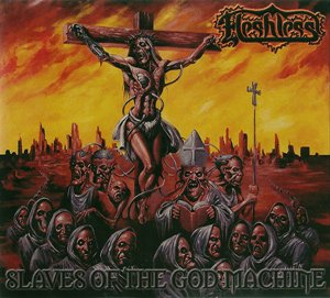 Fleshless - Slaves Of The God Machine (2011) - Digipak