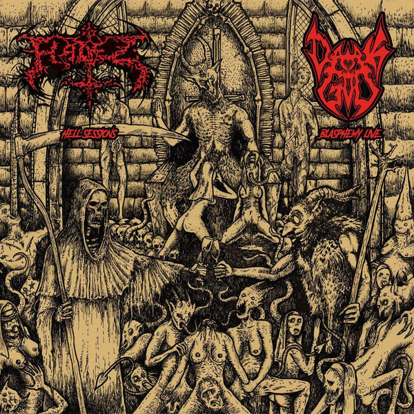 Hadez / Dark God - Hell Sessions / Blasphemy Live