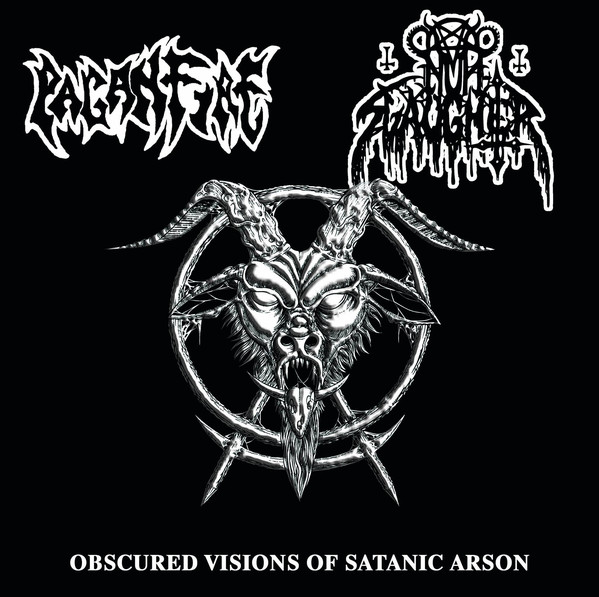 NunSlaughter, Paganfire ‎– Obscured Visions Of Satanic Arson