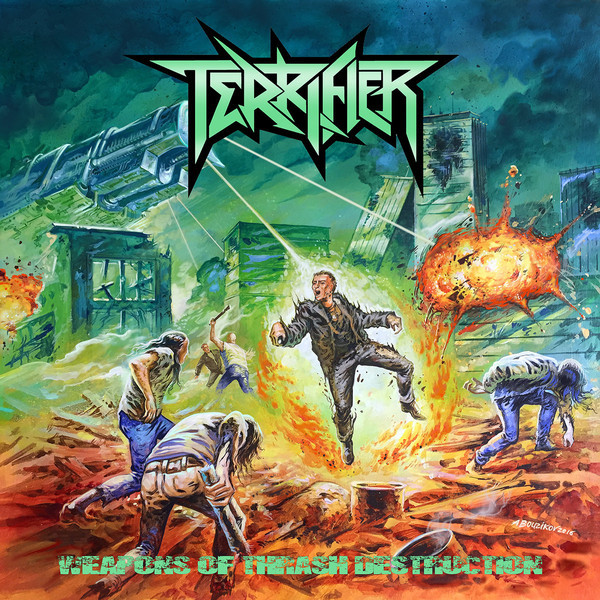 Terrifier ‎– Weapons of Thrash Destruction