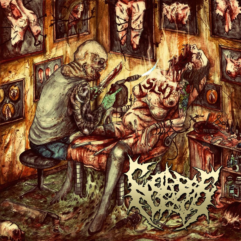 Corpseflesh - Tattooed By A Blowtorch (2013)