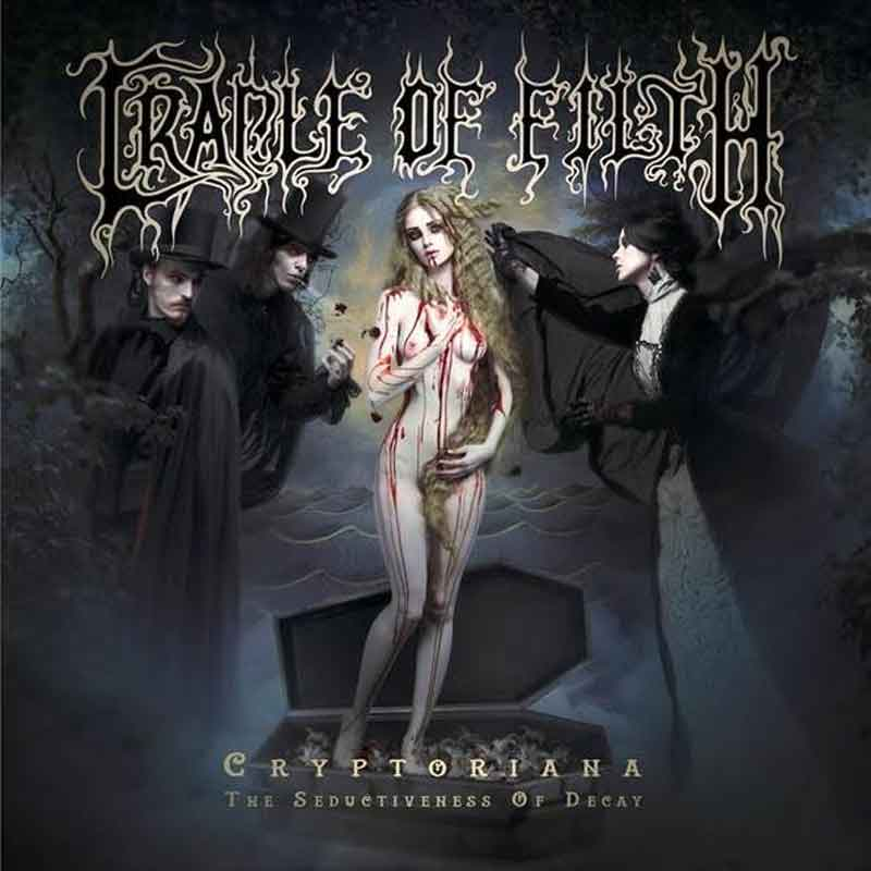 Cradle Of Filth - Cryptoriana The Seductiveness Of Decay (2017)