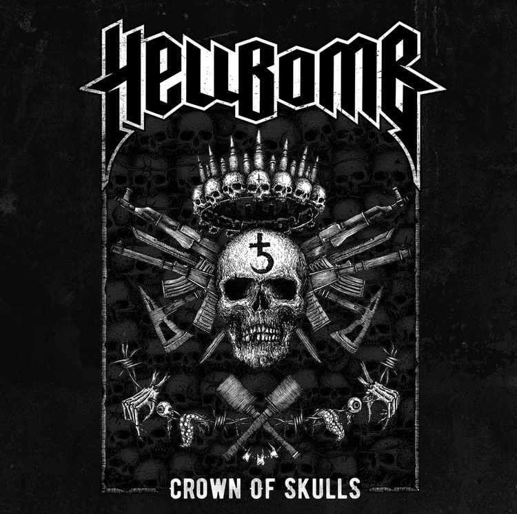 Hellbomb - Crown Of Skulls (EP) (2017)