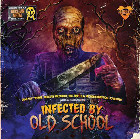 V/A - Infected By Old School (Poland - 4 way split)