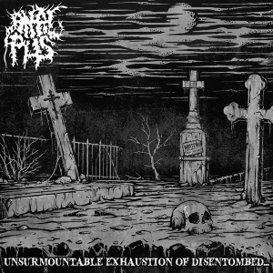 Anal Pus - Unsurmountable Exhaustion Of Disentombed... - Digipak
