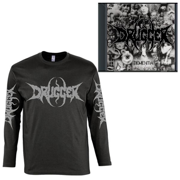Drugger - Dementia (Longsleeve+CD) - PRE-ORDER / ПРЕДЗАКАЗ