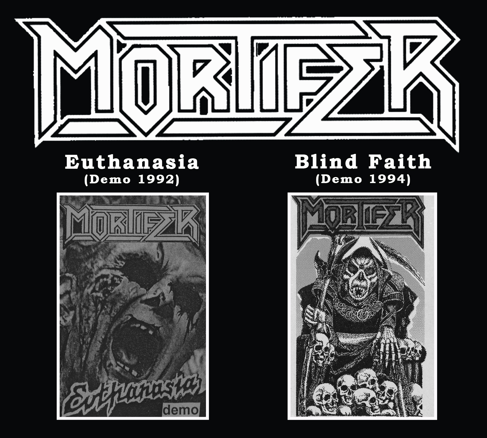 Mortifer - Euthanasia / The Blind Faith - pre-sale