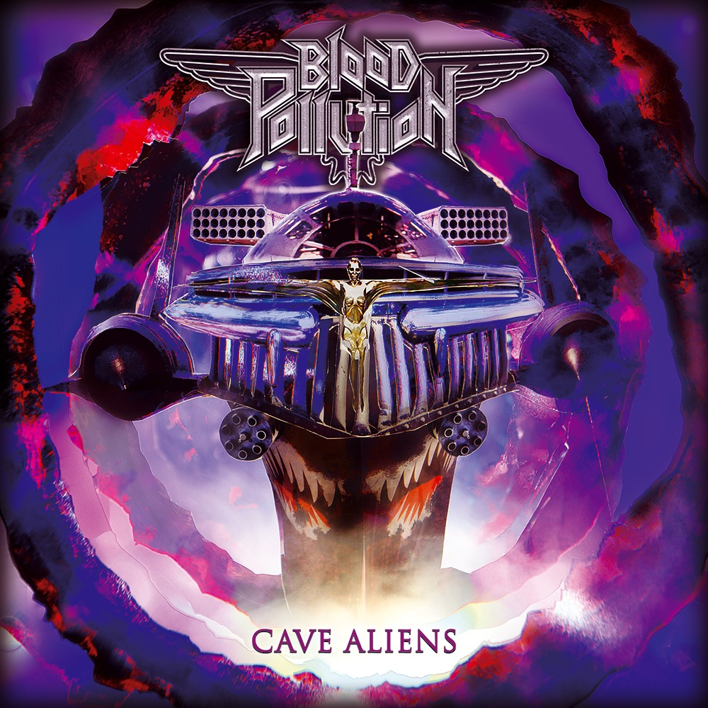 Blood Pollution ‎– Cave Aliens - MC
