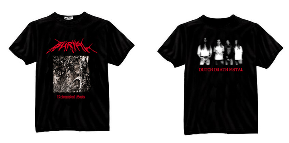 BURIAL - Relinquished Souls - T-SHIRT